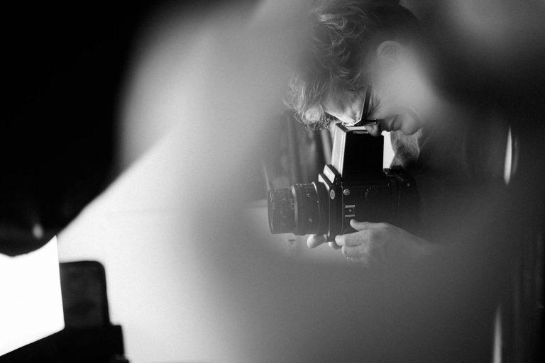Making of Analogportraitshooting Mamiya RZ67