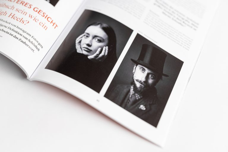 Publikation Photoklassik Ken Wagner - analoge Schwarzweiss Portraitfotografie in Dresden