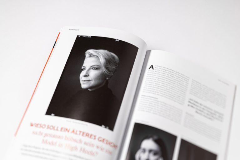 Publikation Photoklassik Ken Wagner Analoge Schwarzweissportraitfotografie in Dresden - fineartportraits