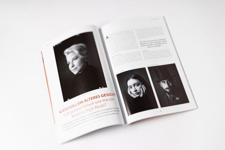 Publikation Photoklassik Ken Wagner Analoge Schwarzweissportraitfotografie in Dresden