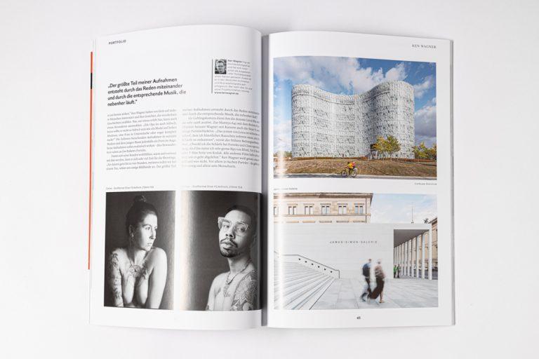 Publikation Photoklassik Ken Wagner Analoge Portraitfotografie in Dresden