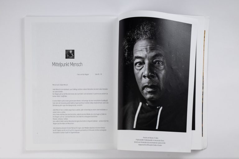 Publikation Fotomagazin analoge Portraitfotografie Analoge Fineartportraits
