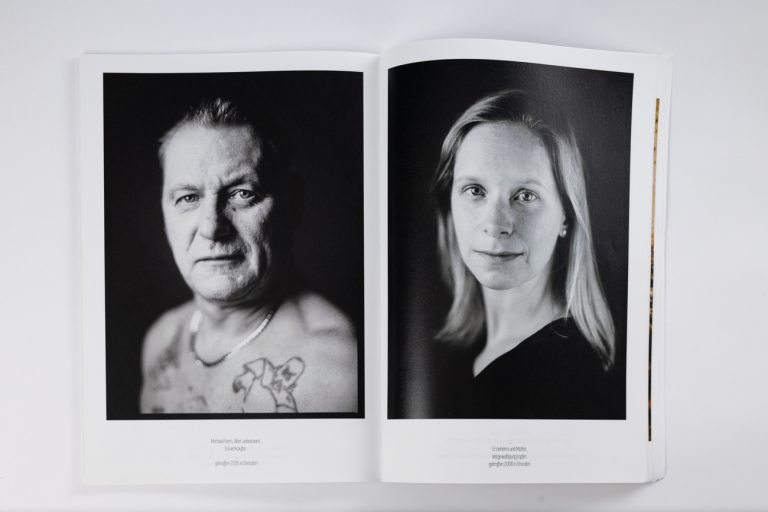 Publikation Fotomagazin analoge Portraitfotografie