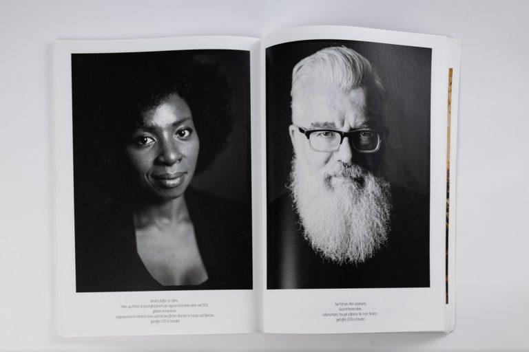 Publikation Fotomagazin analoge Schwarzweissportraitfiotografie