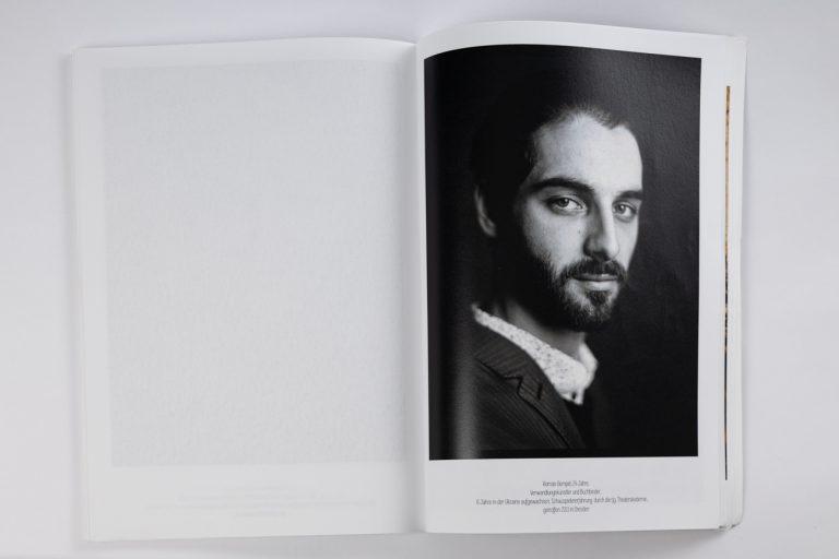 Analoges Portrait Mamiya 645 80mm f1.9 Ken Wagner