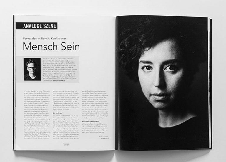 Analoge Portraitfotografie Dresden Projekt Mensch sein