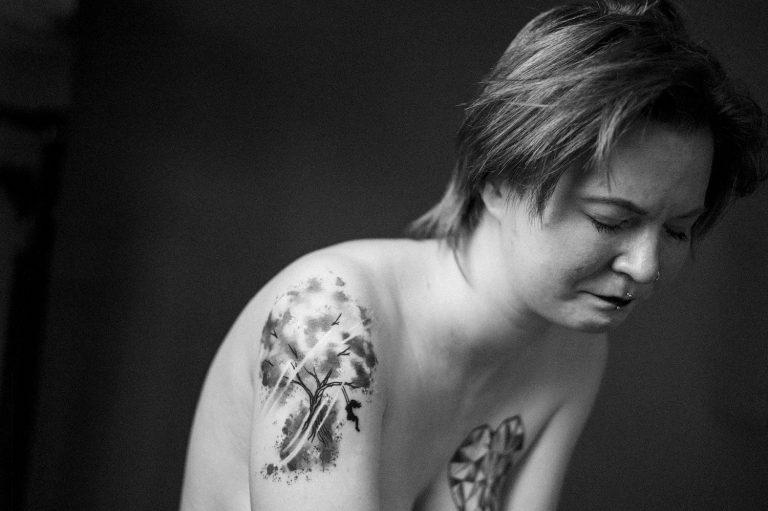 Weinendes Portrait, Ken Wagner, Portraitfotografie
