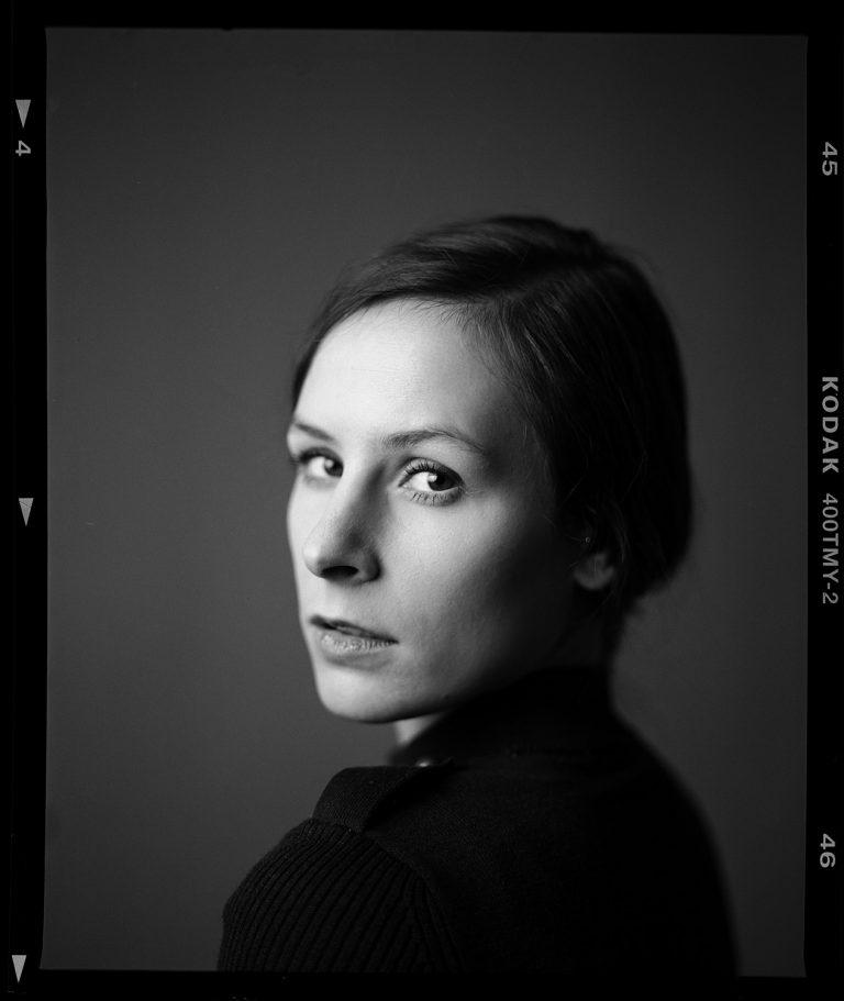 analoges Studioportrait, Portrait auf Film, ken Wagner, Fotostudio Dresden