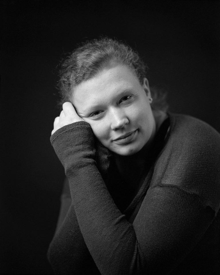 Mamiya rz 67, natürliches Analogportrait