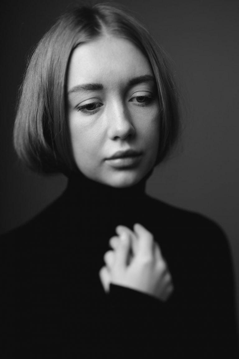 Frauenstudioportrait, Fineartportrait, Frauenportrait