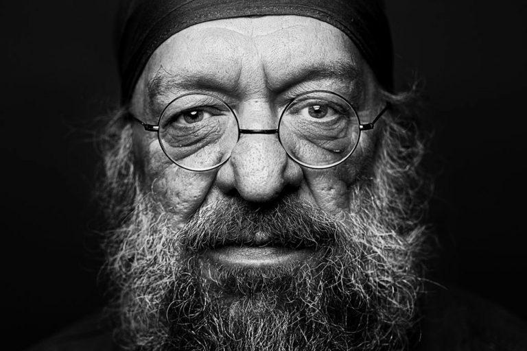 Charakterportrait im Fotostudio in Dresden