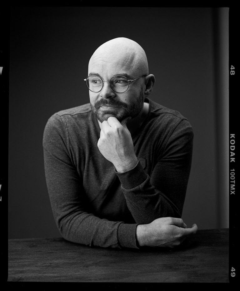 mamiya rz 67, analog portrait, dresden, kodak, tmax100, film, Ken WAgner