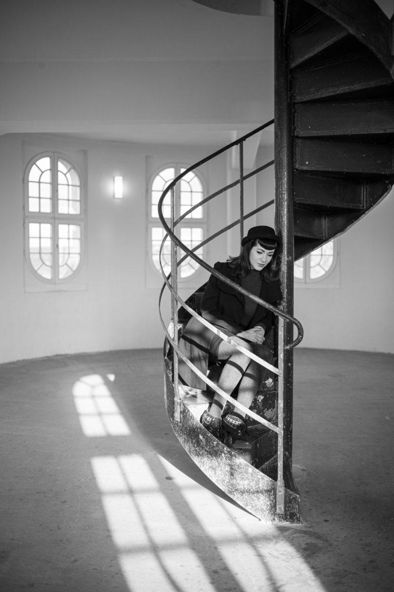 Portraitshooting, Portraitfotografie, Outdoorportraitshooting Technische Sammlung Dresden