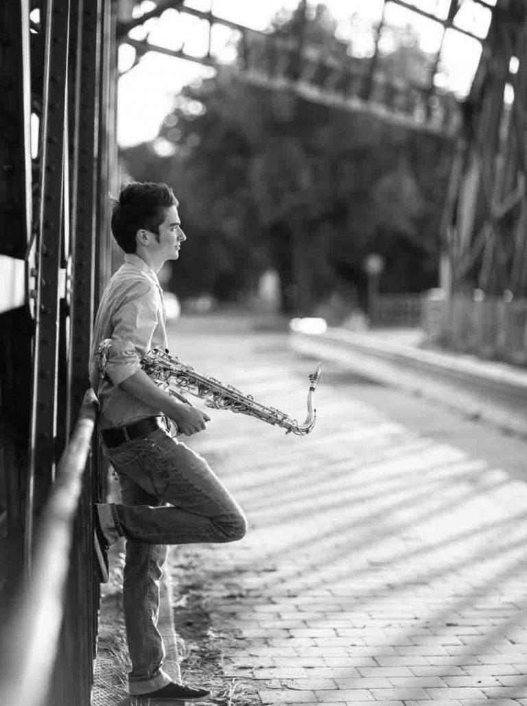 Saxophonist Dresden Künstlerfotografie, Musikerfotografie, Portraitfotografie Dresden