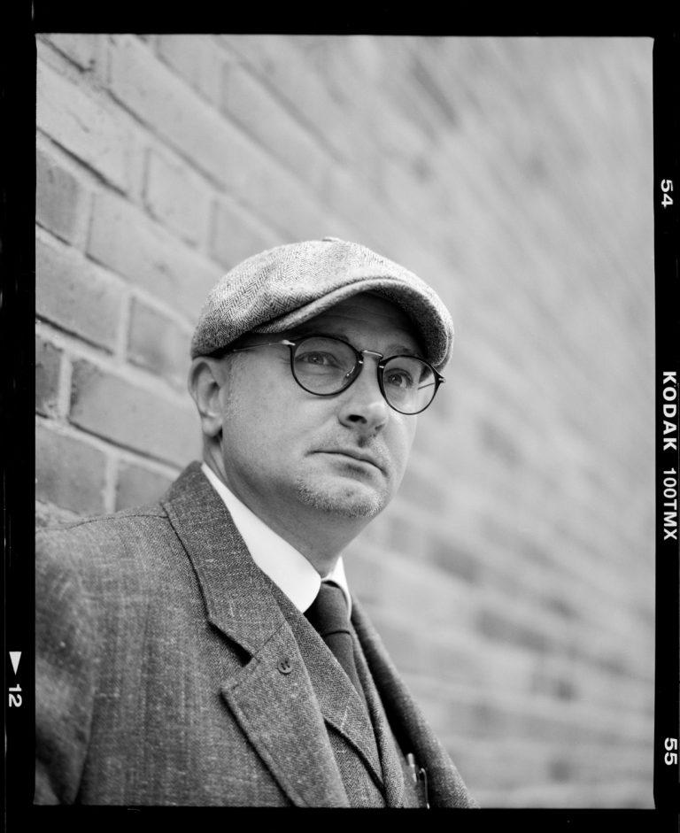 Portraitfotografie in Dresden, Kodak T-Max100, vintage