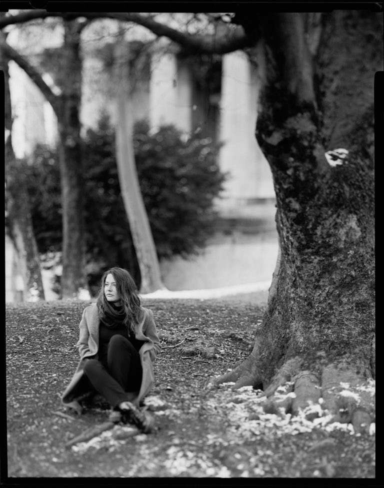 analoge Portraitfotografie mit einer Grossformatkamera in München