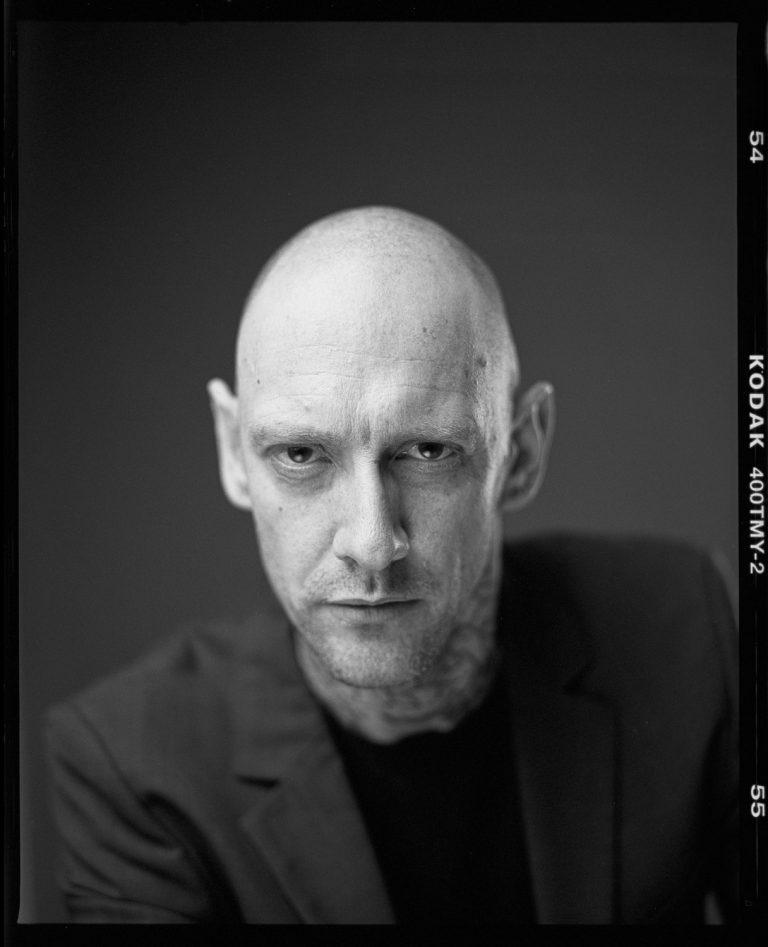 Sascha Billig - Tattookörper Analoge Portraitfotografie in Dresden, Fineartphotography, Close Up
