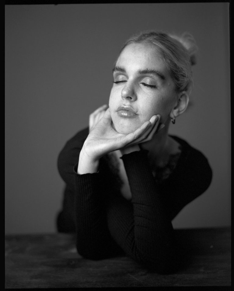 Mamiya RZ 67 analog portrait, Tmax 400, Kodak, 6x7, Ken WAgner