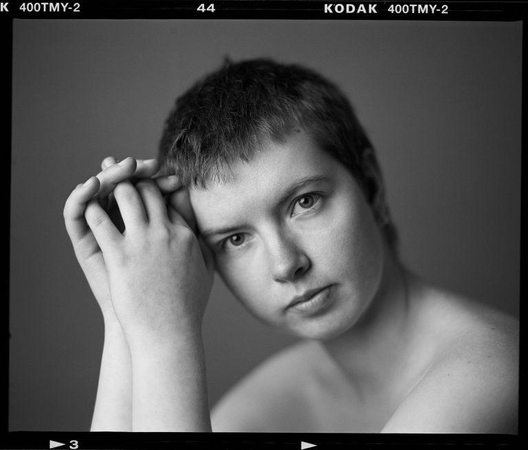 Mamiya RZ 67, analog portrait, kodak, Tmax400, 6x7, Ken WAgner