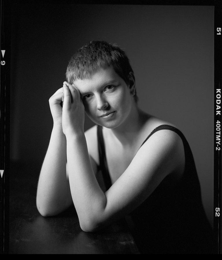 Mamiya RZ 67 analog portrait, kodak, Tmax400, 6x7, Ken WAgner